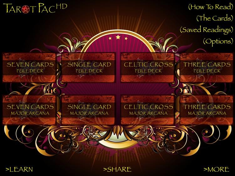 TarotPac Tarot Cards HD screenshot-4