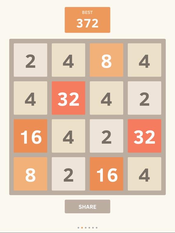 Screenshot #5 for 2048