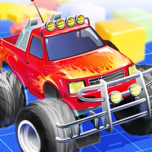Micro Monster Truck -radio toy