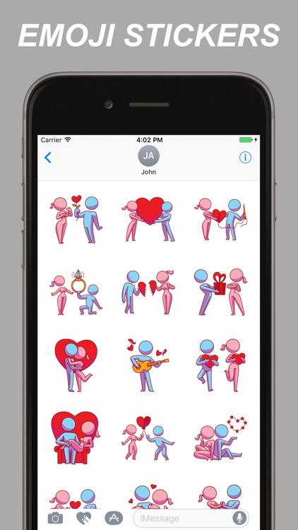 Adult Emojis - Flirty Emoji Stickers