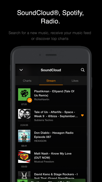 Screenshot #4 for VOX: MP3 & FLAC Music Player