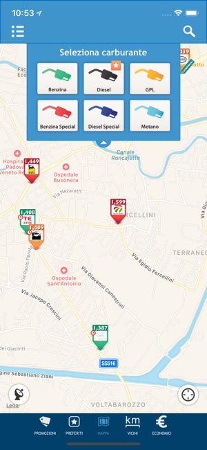 Prezzi Benzina - GPL e Metano Screenshot