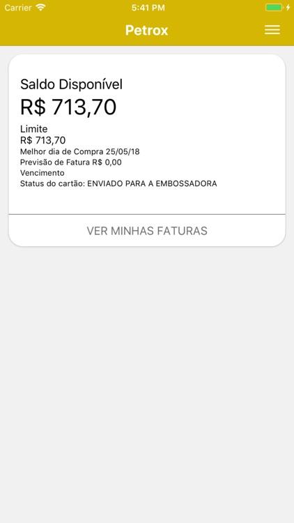 Cartão Petrox screenshot-4