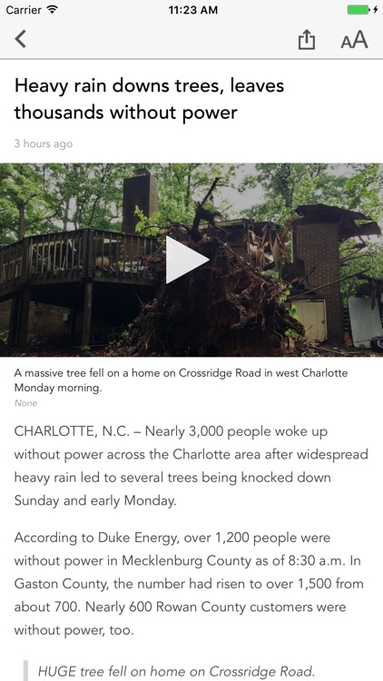 WCNC Charlotte News screenshot-2