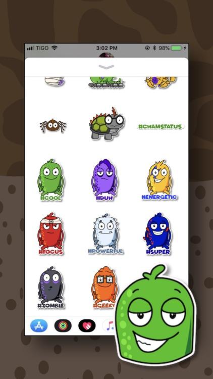 Cham's Escape Stickers