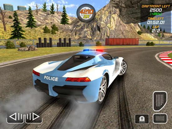 Игра Police Drift Car Driving