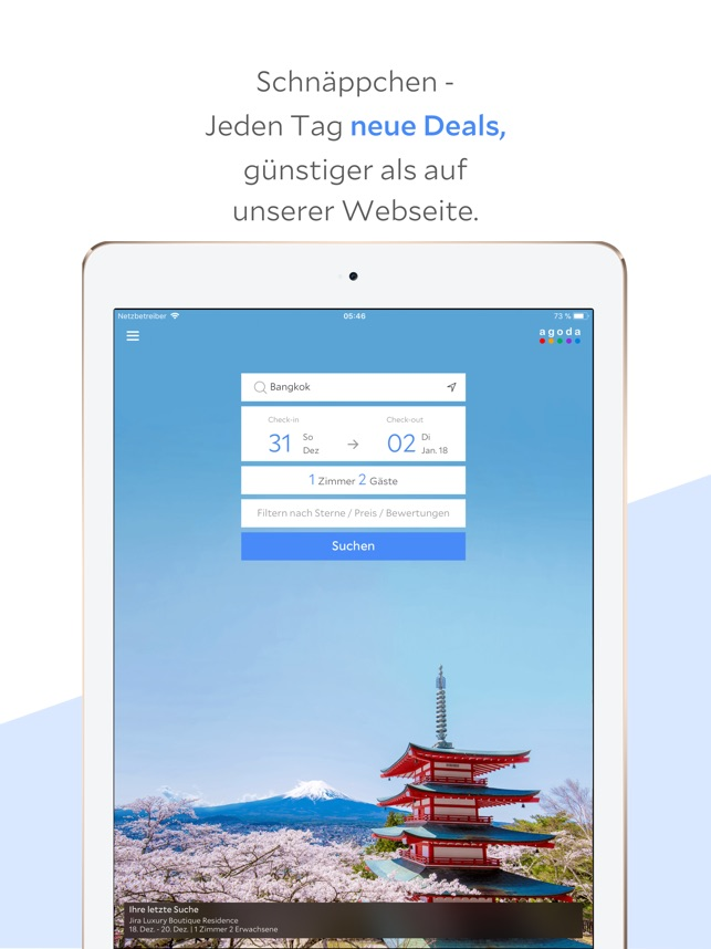 Agoda - Hotels & Deals Screenshot