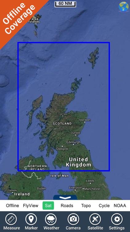 Scotland Nautical Chart HD GPS screenshot-4