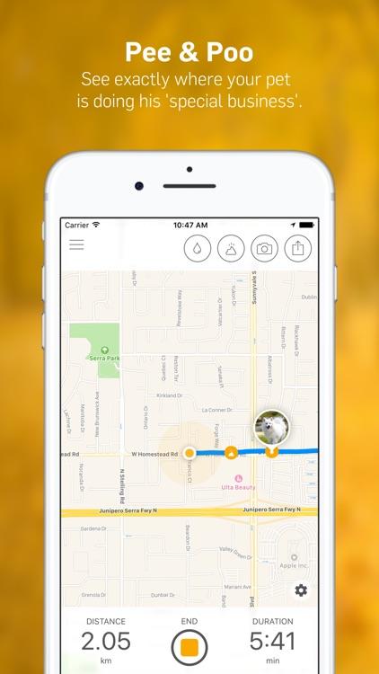 Dog Walk - Track Your Dog's Daily Walks! screenshot-3