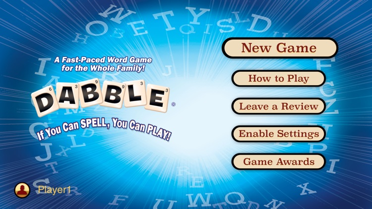 Dabble A Fast Paced Word Game