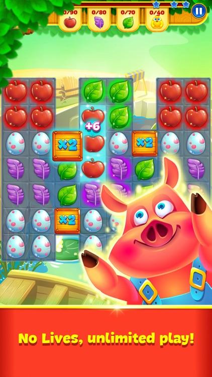Farm Charm: Match 3 Board King screenshot-3