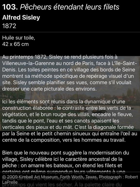 Screenshot #4 pour Sisley l'impressionniste