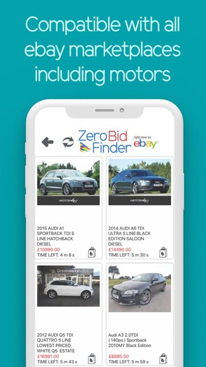 Zero Bid Finder for ebay USA screenshot-5