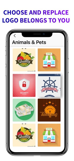 Business card logo maker on the app store colourmoves