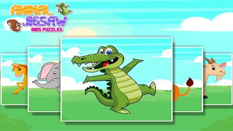 Animal Jigsaw Kids Puzzle Pro screenshot-4