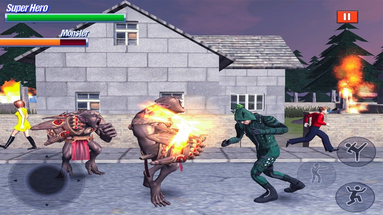 Super Hero Fight in City screenshot-4
