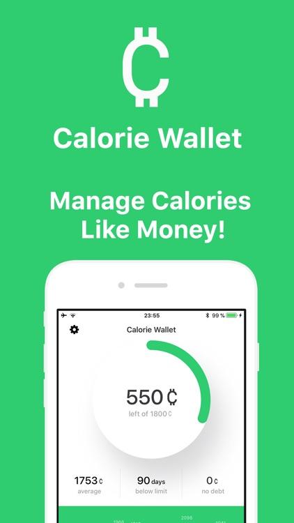 Calorie Wallet screenshot-0