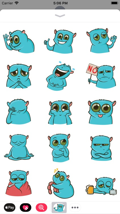 Tarsier Paul Stickers