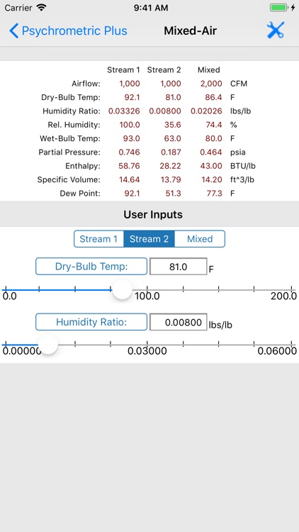 HVAC Psychrometric Plus screenshot-5