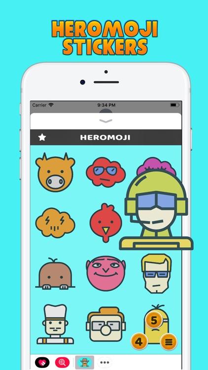 HeroMoji Stickers