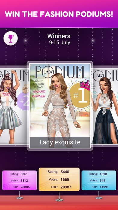 Lady Popular: Fashion Arena Screenshot 10