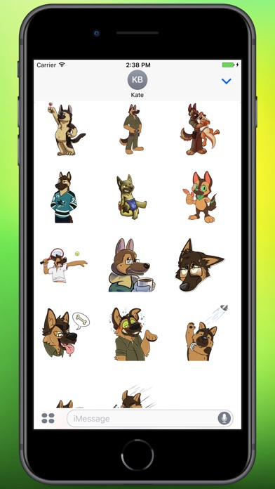 Screenshot for Serious Doggo Stickers in Colombia App Store