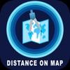 Measure Exact Distances on map