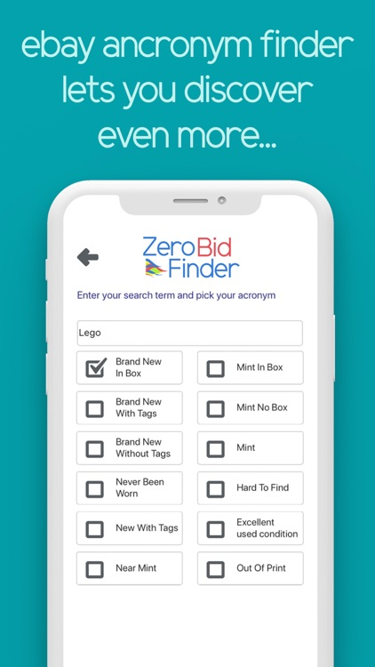 Zero Bid Finder for ebay USA screenshot-7
