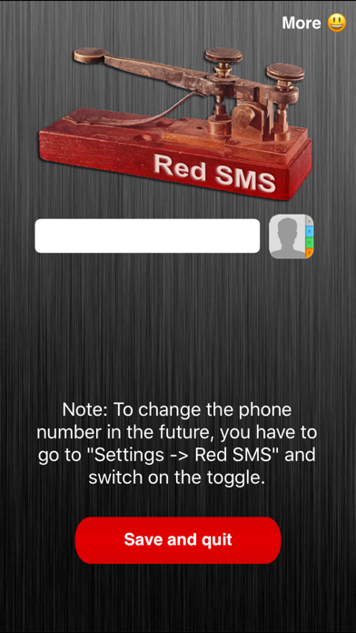 Red Sms review screenshots