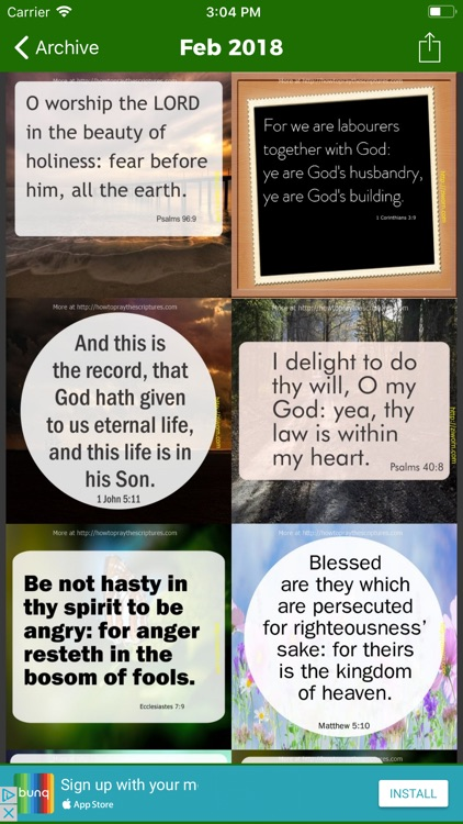 Encouraging Bible Verses · screenshot-4