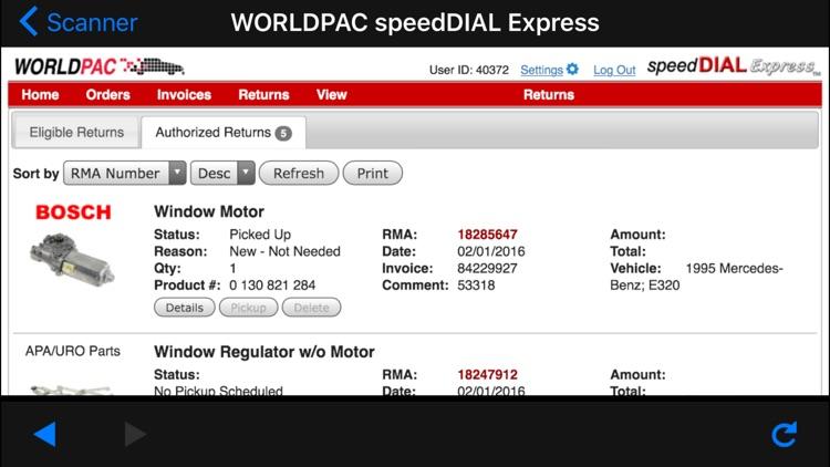 WORLDPAC screenshot-4