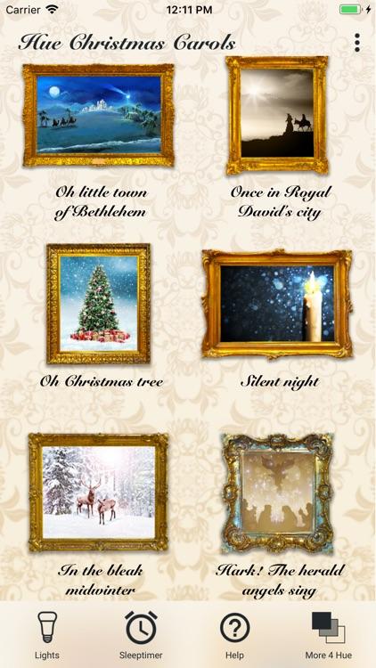 Hue Christmas Carols Advent