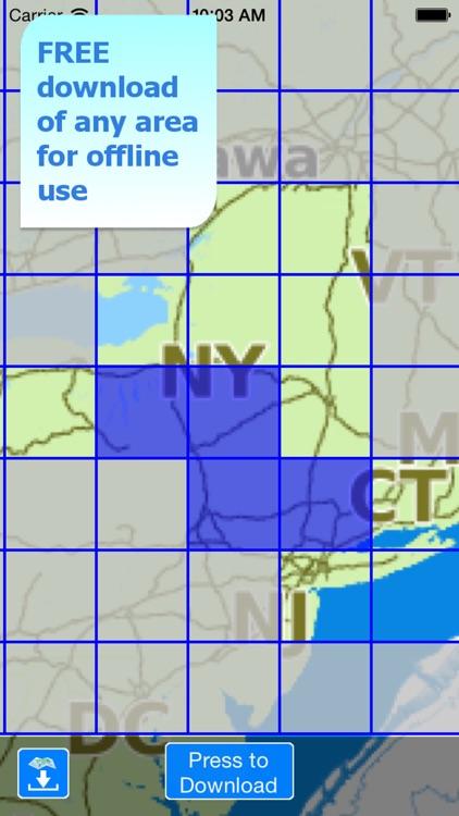 Aqua Map New York Lakes GPS HD screenshot-5