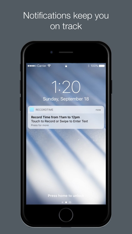 RecordTime – Track Your Time