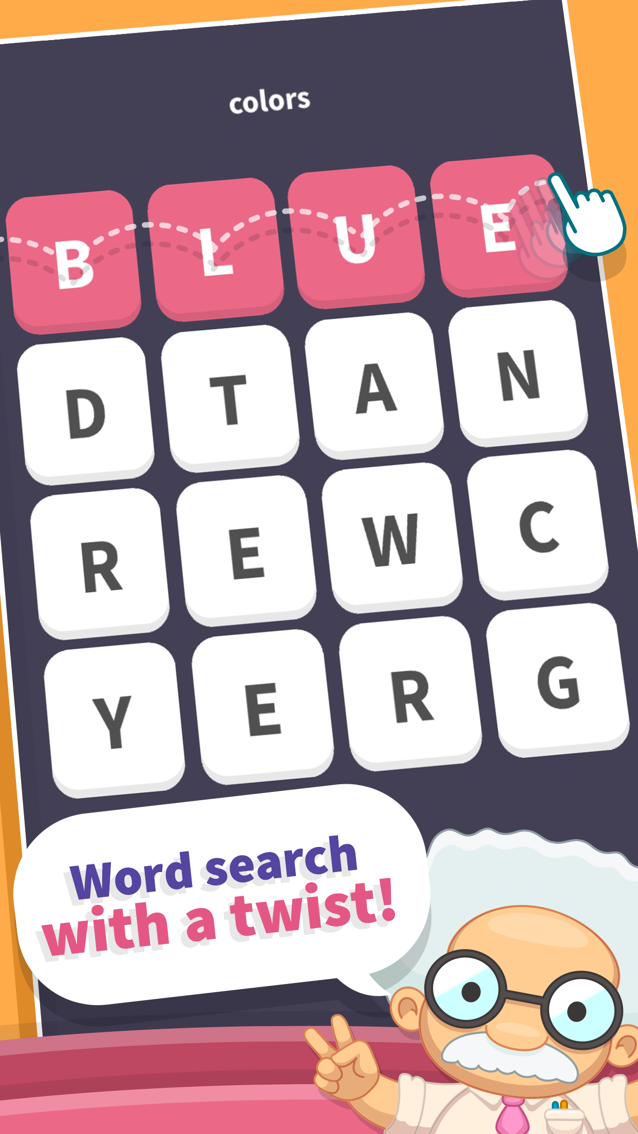 WordWhizzle Search Screenshot