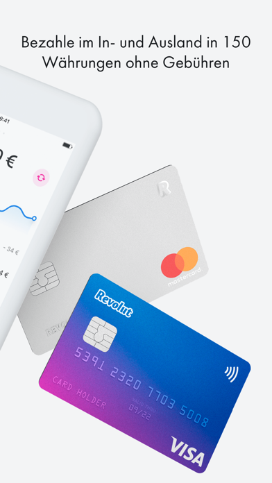 Screenshot for Revolut - Mobiles Girokonto in Germany App Store