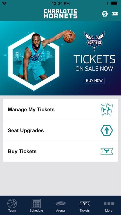 Charlotte Hornets screenshot-4
