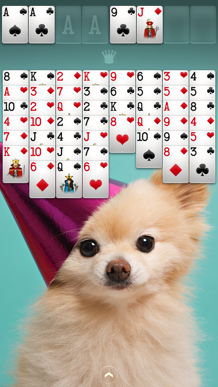 ⋆FreeCell Screenshot