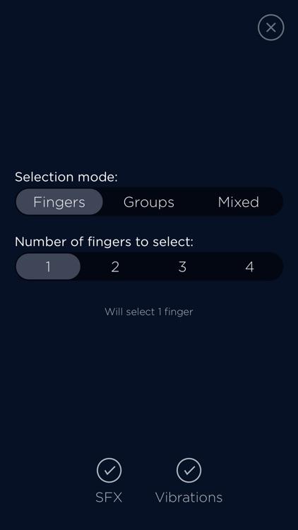 Selector - Finger Chooser