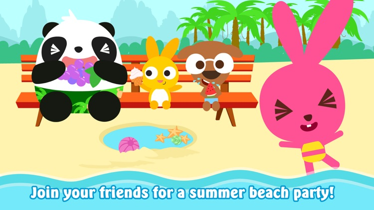 Purple Pink Summer Beach screenshot-0