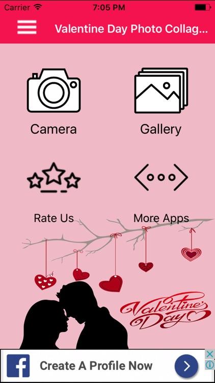 Valentine Day Photo Frame Creator