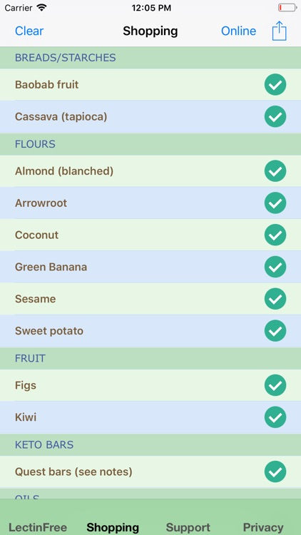 LectinFree Allowable Food List screenshot-4