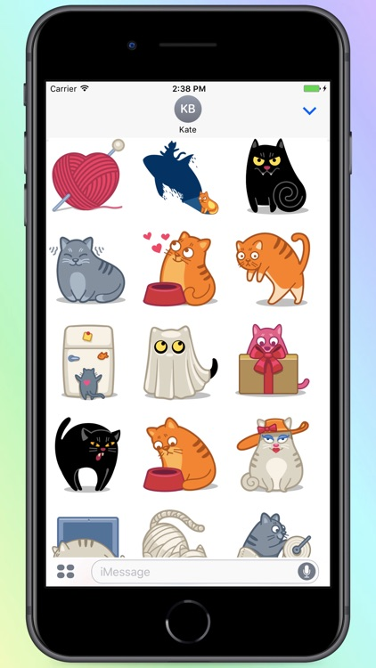 Cats Life! Stickers