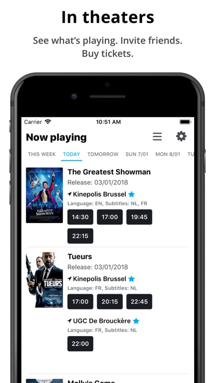 Cinemapp - Movie guide