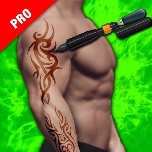 Tattoo Design Artist 3D Pro iOS App