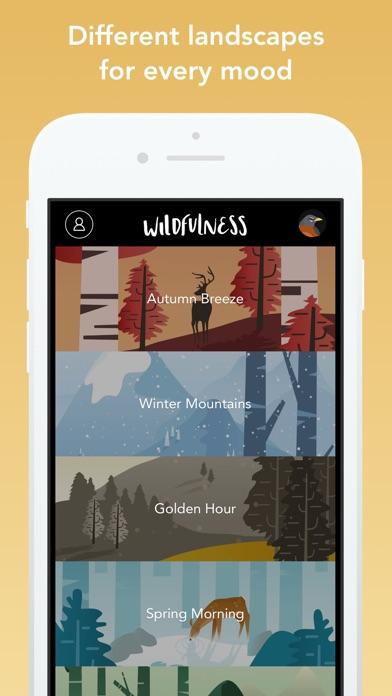 Wildfulness: Meditate & Relax Screenshots