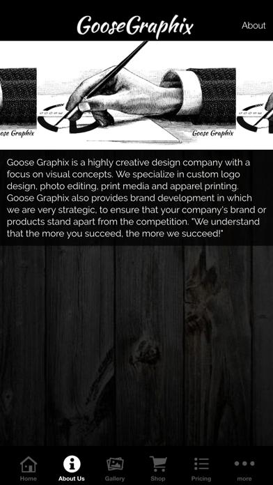 Goose Graphix screenshot two