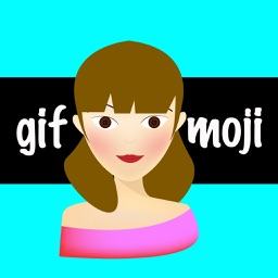 GifMoji - Animated Girl Stickers