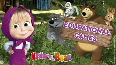 Screen Shot Masha and the Bear Games 0