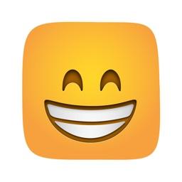Square animated emoji sticker